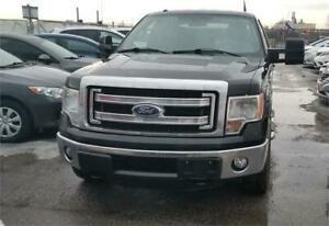 2013 FORD F-150 SUPER CAB 163 XLT V6 4WD 8 FT LONG BOX