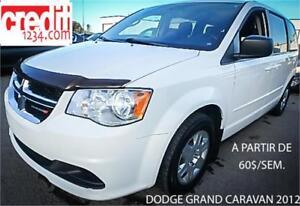 2012 Dodge Grand Caravan SE, à partir de 60 $/sem.100% approuvé