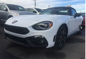2017 FIAT 124 SPIDER ABARTH 0% FOR 84 MONTHS ONLY UNTIL MARCH !!