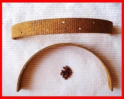 Famulus Bremse Bremsbacken Handbremse Bremsband ( 2 x Bremsbänder + Nieten )