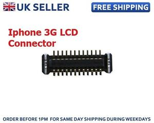 New LCD Screen Display Flex Connector For Apple iPhone 3 3G