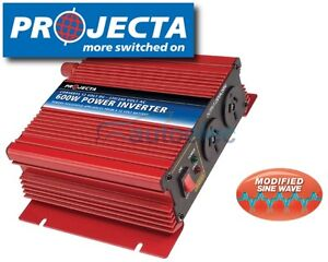 PROJECTA-600-WATT-600W-INVERTER-12-VOLT-12V-to-240-VOLT-240V-POWER-CAMPING