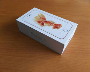 Two iPhone 6s 16gb silver in box (bell/virgin)
