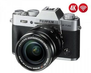 Fujifilm X-T20 (Silver) Kit with 18-55mm f/2.8-4 OIS