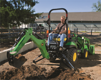 NEW John Deere 1025R With Loader and Backhoe North Bay Ontario Preview