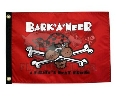 Best Friend Usa Flag - Animal Dog BARK A NEER PIRATES BEST FRIEND 12