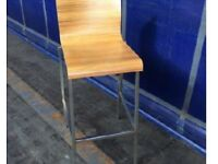 Made in Italy solid oak Bar Stools