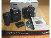 Canon EOS 5D Mark IV 30.4MP body only