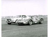 Vintage /& Rare 8X10 Auto Racing Photo 1967 Daytona 24 Hours Starting Grid