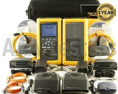 Fluke Dsp-4000 Cat6 Mm Fiber Cable Tester Fta410 Dsp4000 Dsp-fta410 Dsp 4000 Fta