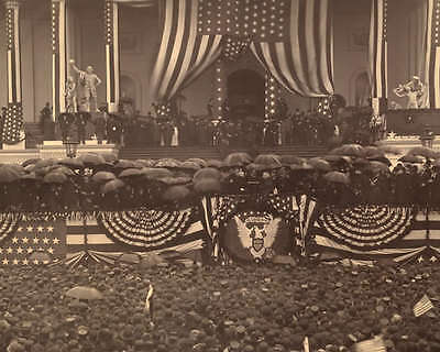 BENJAMIN HARRISON PRESIDENTIAL INAUGURATION 8X10 PHOTO