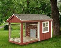 K9 KENNELS | PORTABLE KENNELS | BACKYARD DOG SHELTERS