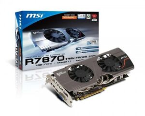 AMD Radeon 7870 Crossfire Config Graphics Cards