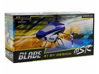 E-Flite Blade mSR RTF Electric Helicopter - BLH3000 Remote Control Helicopter + Many Spares BNIB