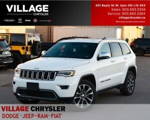 2018 Jeep Grand Cherokee Limited 4x4 Nav Leather Panosunroof Lux