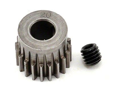 Robinson Racing Hardened 20T 48P Pinion Gear 5mm/Traxxas/Associated/HPI RRP2020