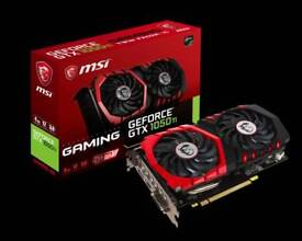 1050ti msi nvidia graphics card 4gb