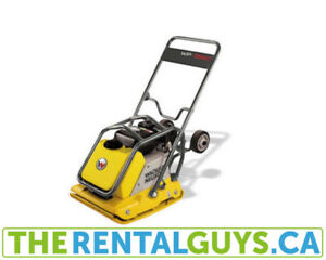 vibrating plate compactor rental free delivery