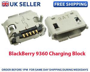 NEW-USB-PORT-MINI-CONNECTOR-CHARGING-BLOCK-Repair-Part-FOR-BLACKBERRY-Curve-9360