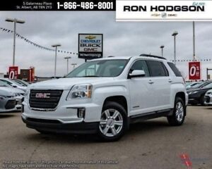 2016 GMC Terrain SLE V6 AWD HTD SEATS RMT START LOW KM PEARL WHI