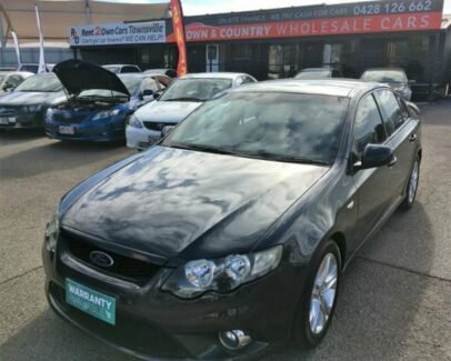 2011 Ford Falcon FG XR6 Grey Semi Auto Sedan Garbutt Townsville City Preview