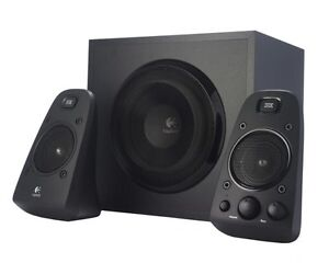 POWERFUL COMPUTER SPEAKERS BY LOGITECH FOR RICH ACOUSTICS