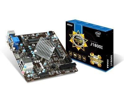 Msi Mini Itx (J1800I MSI Mini-ITX HDMI USB3.0 Motherboard Celeron J1800 Dual-core CPU HTPC)