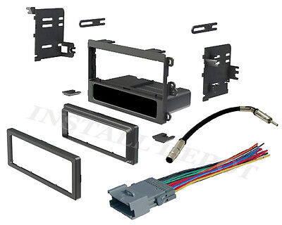 Install Dash Kit Gmc Jimmy - 1999-05 CHEVY GMC COMPLETE RADIO INSTALL DASH KIT WIRING HARNESS ANTENNA ADAPTER