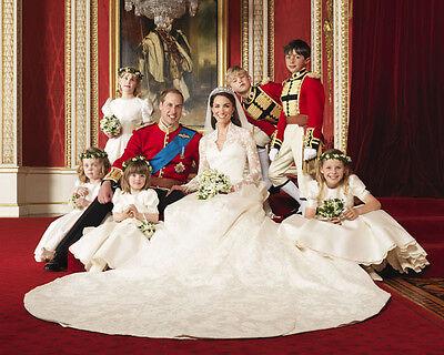Catherine, Duchess of Cambridge & Prince William UNSIGNED photo - H5980