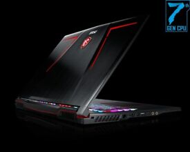 BRAND NEW LAPTOP, SEALED BOX MSI GE73 7RD, 17.3 INCH