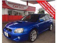 SUBARU IMPREZA 2.0 WRX TURBO 4d 224 BHP LOW MILEAGE, Recent Cam B (blue) 2005