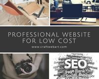 Web Design - Eye catching professional website for $299.No Dep.