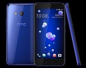 HTC U11 DUAL SIM 128GB 6GB RAM BLUE NEW SEAL PACK UNOPENED BOX