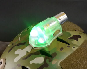 Element-EX262-Manta-Signal-Velcro-Strobe-Green-IR-Tan-for-Devgru-OPS-Helmet