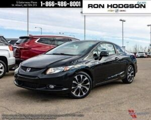 2013 Honda Civic Coupe Si MANUAL SUNROOF NAVI