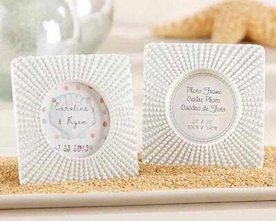 Sea Tidings Sea Urchin Frame Ocean Beach Themed Wedding - Beach Theme Centerpieces