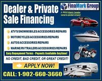 Private sale Finance and Leasing! All credit welcome!