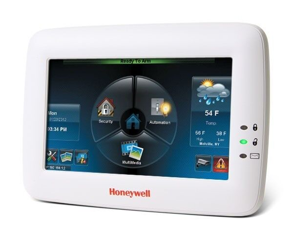 """Honeywell 7"""" Tuxedo Touch Keypad with Voice Control, WIFI, and ZWAVE (USED)"""