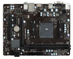 MSI Carte Mere A68HM-E33 V2 AMD FM2+ A68H DDR3 32GB PCI-Express