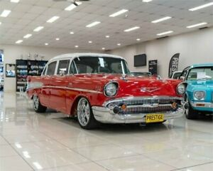 1957 Chevrolet Bel-Air 210 Red Automatic Sedan Carss Park Kogarah Area Preview