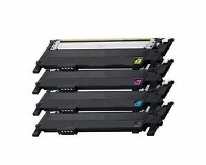 Samsung CLT-406S New Compatible B/C/Y/M Toner Cartridges Combo Set