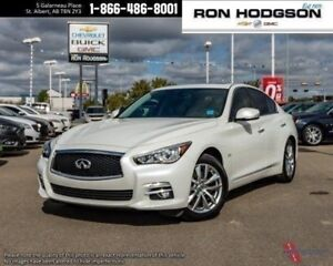 2016 INFINITI Q50 2.0t AWD ROOF NAV LTHR LOADED LOW KMS