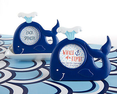 Ocean Theme Decorations (Nautical Whale Ocean Theme Frame Baby Shower)