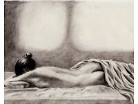drawing class, draw, art, nude, naked, model, live drawing, transexual