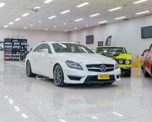 2013 Mercedes-Benz CLS63 S 218 MY13 Update AMG White 7 Speed Automatic G-Tronic Coupe Carss Park Kogarah Area Preview
