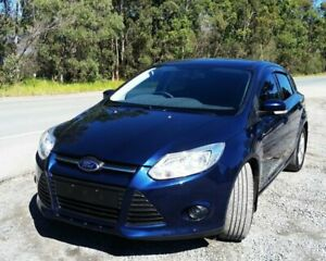 2012 Ford Focus LW MkII Trend PwrShift Blue 6 Speed Sports Automatic Dual Clutch Hatchback Stapylton Gold Coast North Preview