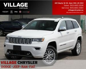 2018 Jeep Grand Cherokee Overland|4x4|Advan Safety|Nav|PanoSunro