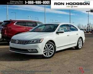 2017 Volkswagen Passat Highline LOW KM FULL LOAD V6 FRESH TRADE