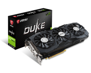 Geforce GTX 1080 Ti Duke MSI