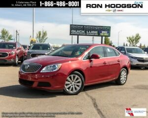 2016 Buick Verano HTD LEATHER RUBY RED